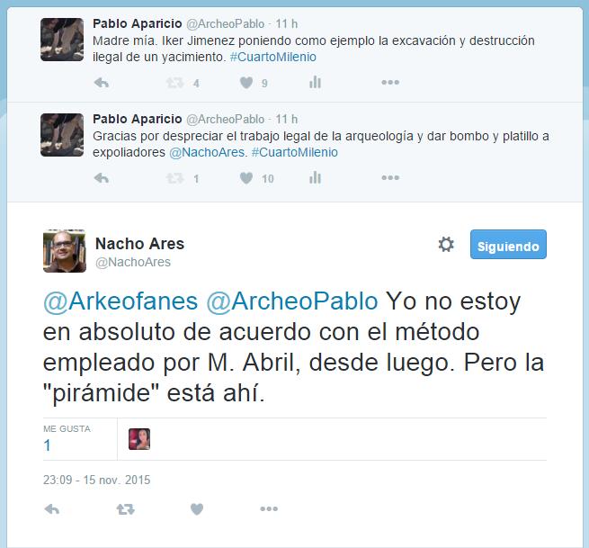 Apología de la arqueología furtiva en la Nave del Misterio ...