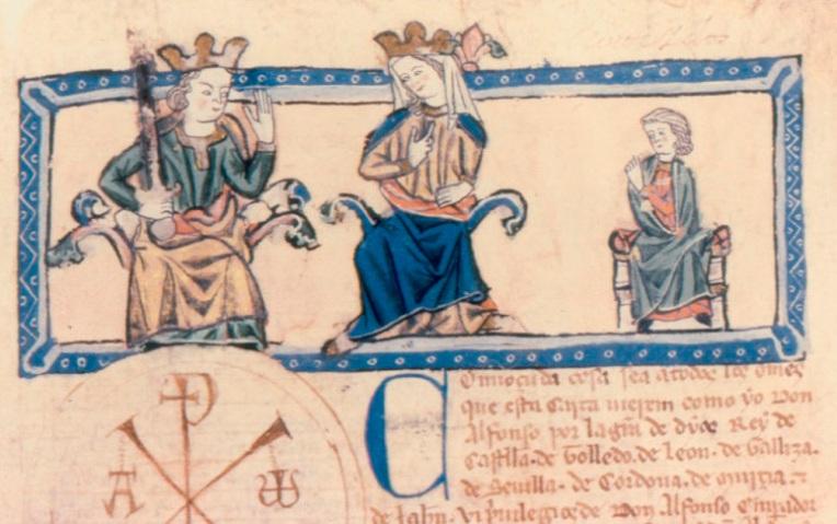 Alfonso X y Violante de Aragón2
